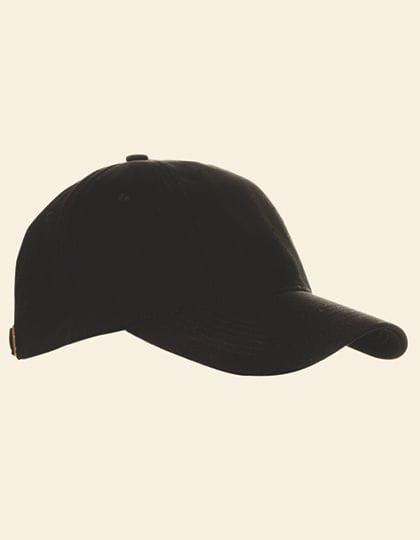 Baumwollcap low profile/brushed Black