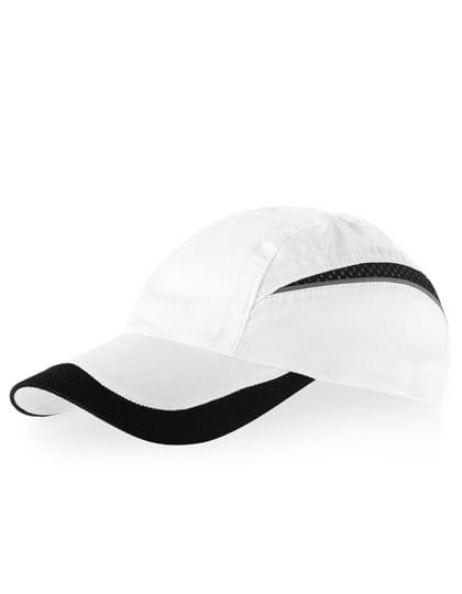 Qualifer Mesh Cap White / Black