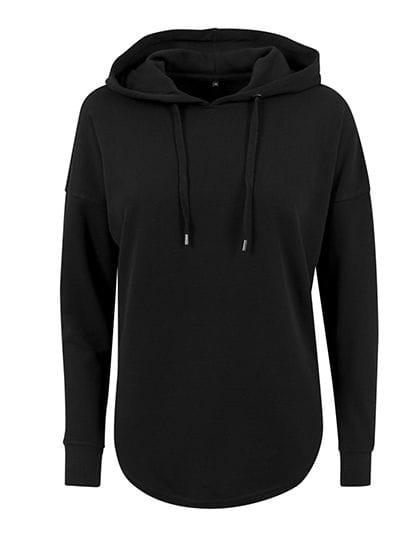 Ladies` Oversized Hoody Black
