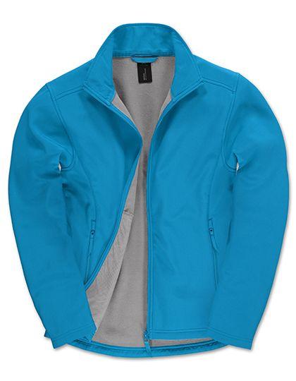 Jacket Softshell ID.701 /Men Atoll / Ghost Grey