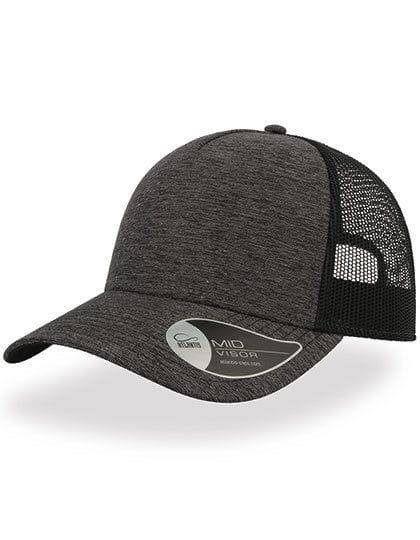 Rapper Melange Cap Dark Grey