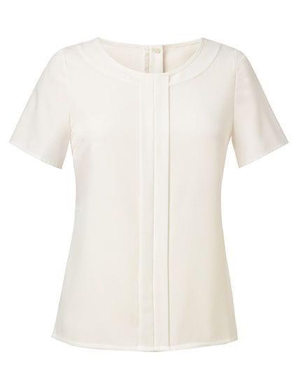 Women`s Felina Short Sleeve Blouse Cream
