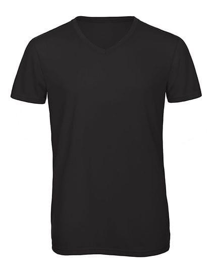 V-Neck Triblend T-Shirt /Men Black