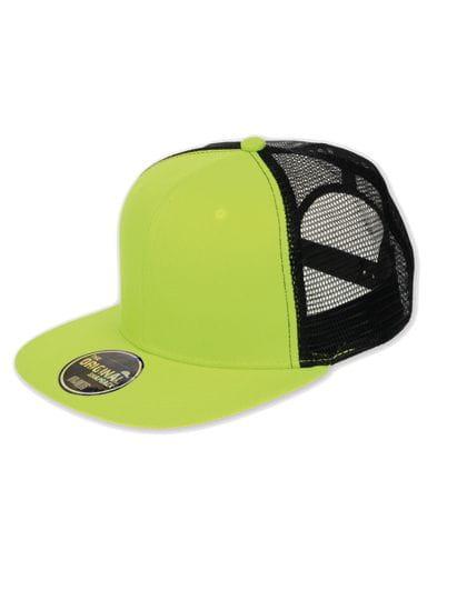 Snap Mesh Cap Green Fluo / Black