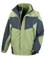 3-in-1 Aspen Jacket Aspen Green / Grey