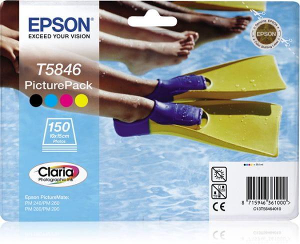 Epson Tintenpatronen C13T58464010 4