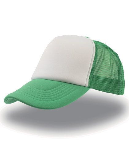 Rapper Cap White / Green / Green