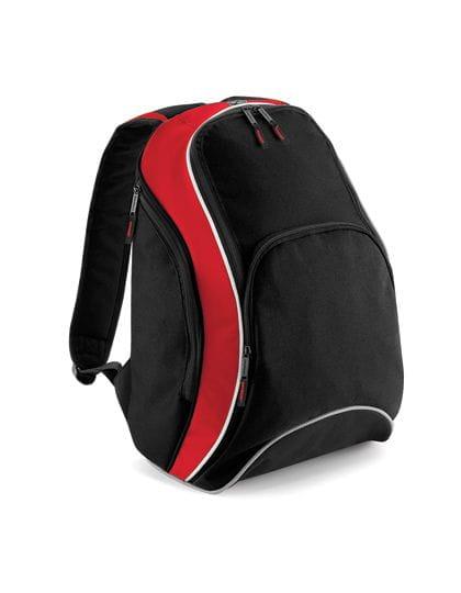 Teamwear Backpack Black / Classic Red / White