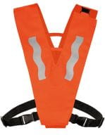 Safety Collar with Safety Clasp for Kids Signal Orange