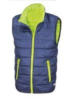 Core Youth Bodywarmer Navy / Lime