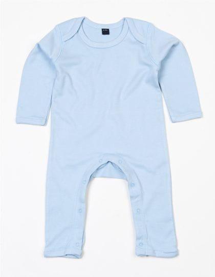 Baby Rompasuit Dusty Blue