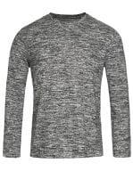 Knit Long Sleeve Sweater Dark Grey Melange