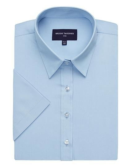 Eos Short Sleeve Blouse Blue