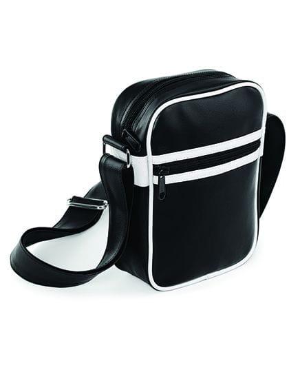 Original Retro Across Body Bag Black / White
