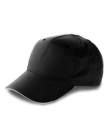 Baseball-Cap Anfield Black / White