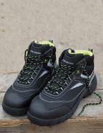Blackwatch Safety Boot Black / Silver