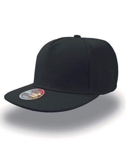 Snap Five Cap Black
