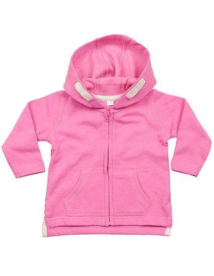 Baby Hoodie Bubble Gum Pink