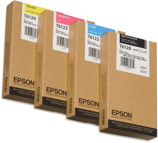 Epson Tintenpatronen C13T612300 2