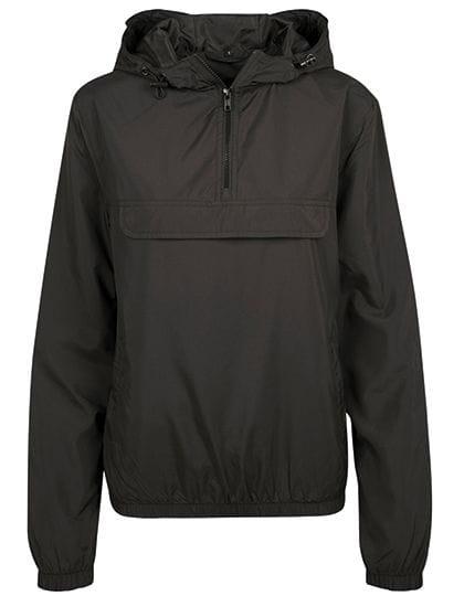 Ladies Basic Pull Over Jacket Black