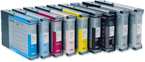 Epson Tintenpatronen C13T605B00 2