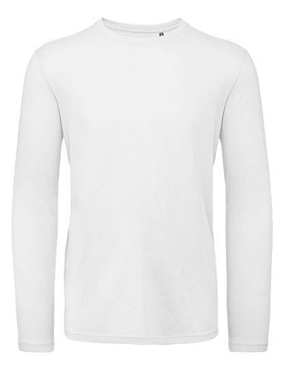 Inspire Long Sleeve T / Men White
