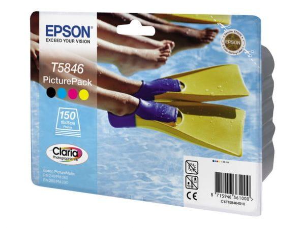 Epson Tintenpatronen C13T58464010 3