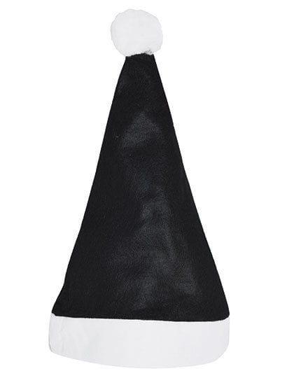 Christmas Hat / Nikolaus Mütze Black / White