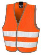Junior Safety Vest Fluorescent Orange