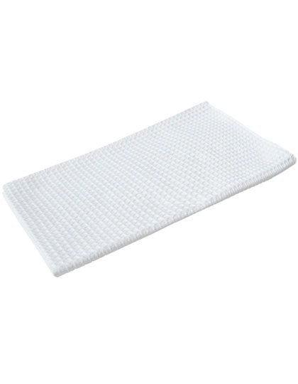 Waffle Kitchen Towel 40 x 60 cm White