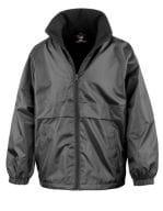 Junior Microfleece Lined Jacket Black
