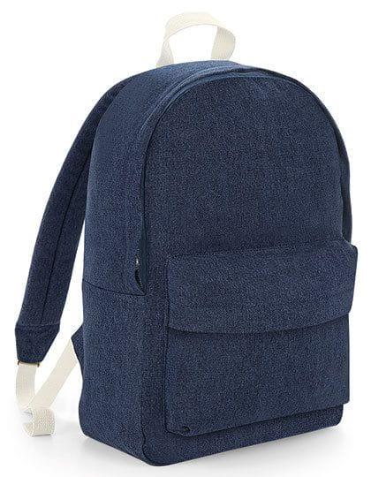 Denim Backpack Denim Blue