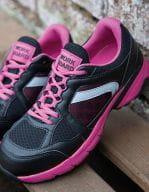 Ladies` Safety Trainer Pink / Black