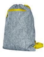 Grey Melange / Yellow