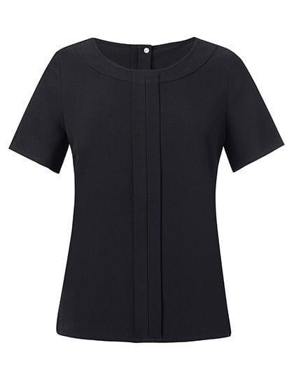 Women`s Verona Short Sleeve Blouse Black