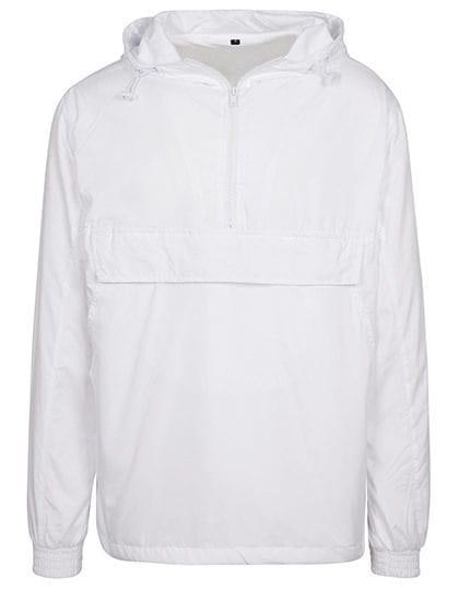 Basic Pull Over Jacket White