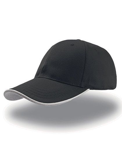 Zoom Piping Sandwich Cap Black / White / Grey