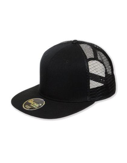 Snap Mesh Cap Black / Black