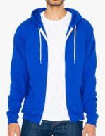 Unisex Flex Fleece Zip Hooded Sweatshirt Lapis