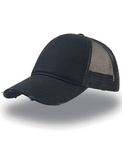 Rapper Destroyed Cap Black / Black