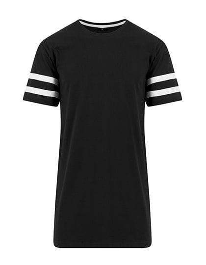 Stripe Jersey Tee Black / White