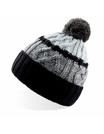 Cool - Knitted Beanie Black / Grey