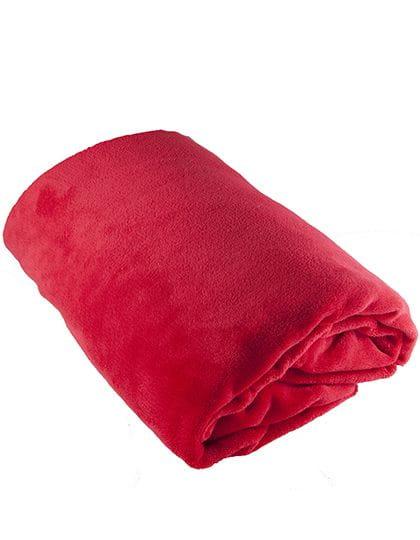 Coral Fleece Blanket Jester Red