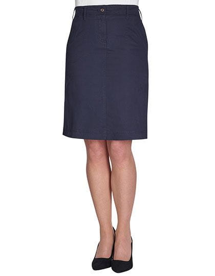 Business Casual Collection Austin Chino Skirt Navy