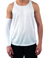 Vapor Sports Sleeve (One piece) White