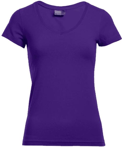 Slim Fit Shirt mit V-Ausschnitt - Promodoro