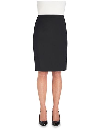 Sophisticated Collection Numana Straight Skirt Black