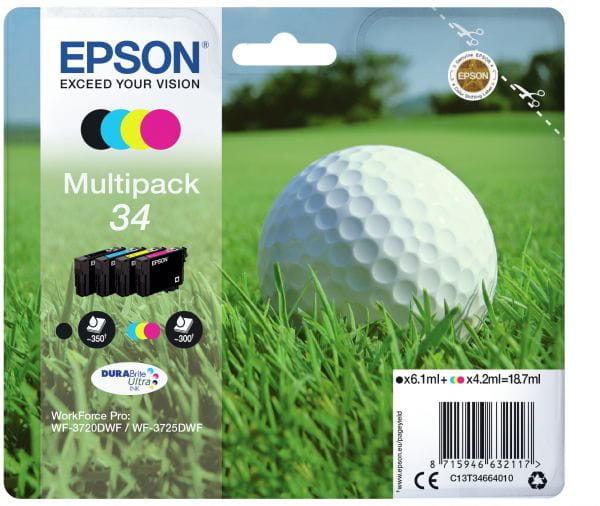Epson Tintenpatronen C13T34664010 2