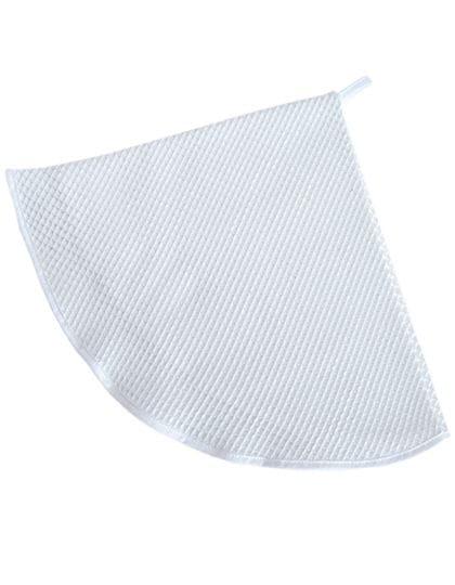 Waffle Round Kitchen Towel