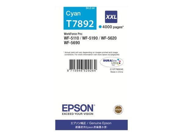Epson Tintenpatronen C13T789240 3